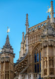 LONDRES - 9 DE DICIEMBRE: Fachada de la abadía de Westminster en Londres el 9 de diciembre, Fotos de archivo