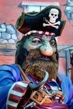 LONDRES - 9 DE DICIEMBRE: Pirata modelo en el país de las maravillas Hyde Par del invierno imagen de archivo