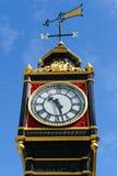 LONDRES - 30 DE JULHO: Ben pequeno fora de Victoria Train Station dentro Imagens de Stock