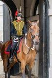 LONDRES - 30 DE JULHO: Reis Tropa Real Cavalo Artilharia em Whitehal Imagem de Stock