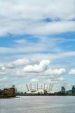 LONDRES - 30 DE JULIO: Vista del edificio O2 en Londres el 30 de julio, fotografía de archivo