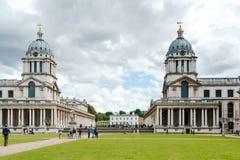 LONDRES - 30 DE JULIO: Vista del museo marítimo de Greenwich en Lond Imagenes de archivo