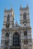 LONDRES - 13 DE MARÇO: Exterior da abadia de Westminster em Londres em março Imagens de Stock