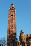 LONDRES - 13 DE MARÇO: Vista da catedral de Westminster em Londres em março Imagens de Stock Royalty Free
