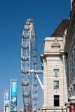 LONDRES - 13 DE MARÇO: Vista do olho de Londres em Londres o 13 de março, 201 Foto de Stock