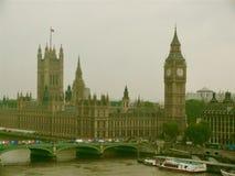 Londres de niebla Imagen de archivo libre de regalías