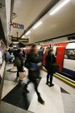 Vista interna de Londres subterrânea Imagem de Stock