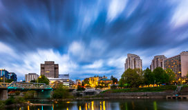 Londres do centro Ontário, Canadá Foto de Stock