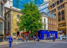 Londres Eastcheap foto de archivo libre de regalías