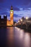 Londres em a noite Fotos de Stock