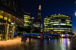 Londres en la noche Foto de archivo