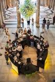 Londres, entrada principal del museo de V&A Fotos de archivo libres de regalías