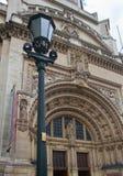 Londres, entrada principal del museo de V&A Foto de archivo