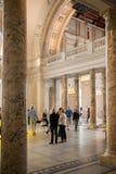 Londres, entrada principal do museu de V&A Foto de Stock
