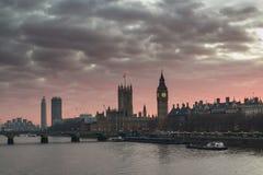 Londres grand Ben Photos libres de droits