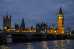 Londres grand Ben Images libres de droits