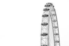 LONDRES/INGLATERRA CENTRALES - CIRCA agosto de 2013 - el ojo famoso de Londres Imagenes de archivo