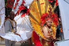 LONDRES, INGLATERRA - 29 DE AGOSTO DE 2011: Carnaval de Notting Hill Imágenes de archivo libres de regalías