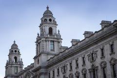 LONDRES, INGLATERRA - 12 DE FEBRERO DE 2018 HMRC, sus ingresos y aduanas construyendo, Parliament Square, Londres, Inglaterra, fe fotos de archivo