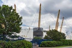 LONDRES, INGLATERRA - 17 DE JUNIO DE 2016: La arena O2 en Greenwich, Londres, Gran Bretaña Imagenes de archivo