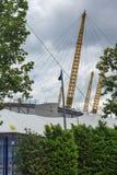 LONDRES, INGLATERRA - 17 DE JUNIO DE 2016: La arena O2 en Greenwich, Londres, Gran Bretaña Fotografía de archivo