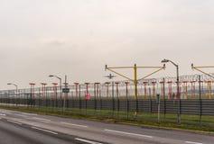 LONDRES, INGLATERRA - 25 DE SETEMBRO DE 2017: Vias aéreas Boeing de Air New Zealand 777 ZK-OKM que descolam no International Airp Fotos de Stock