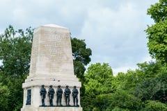 LONDRES - 30 JUILLET : Les gardes commémoratives à Londres le 30 juillet, 201 Photo libre de droits