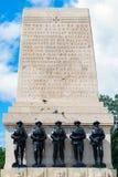 LONDRES - 30 JUILLET : Les gardes commémoratives à Londres le 30 juillet, 201 Image stock