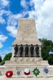 LONDRES - 30 JUILLET : Les gardes commémoratives à Londres le 30 juillet, 201 Images stock