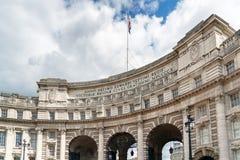 LONDRES - 30 JUILLET : Voûte d'Amirauté dans le mail Londres le 30 juillet, Images libres de droits
