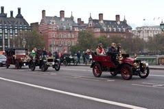Londres a la corrida del coche de Brighton Fotografía de archivo