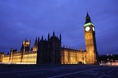 Londres la nuit photo stock