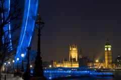 Londres la nuit Images stock