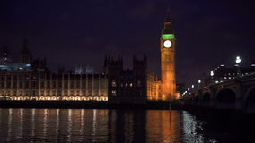Londres la nuit banque de vidéos