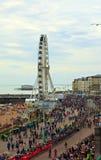 Londres a la raza de la bici de Brighton Fotos de archivo