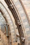 LONDRES, le R-U, musée d'histoire naturelle - bâtiment et détails Image stock