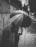 Londres lluvioso Fotografía de archivo libre de regalías