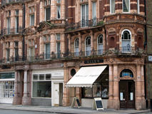 Londres, lojas do distrito de Mayfair Imagens de Stock Royalty Free