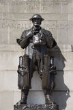 Londres - memorial de primeiros soldados da guerra Fotos de Stock