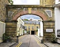 Londres Mews Fotografia de Stock Royalty Free