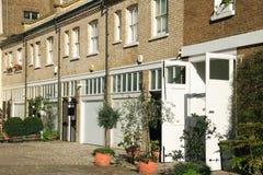 Londres mews casas Imagem de Stock Royalty Free