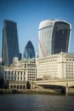 Londres moderne photographie stock libre de droits