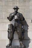 Londres - monumento de los primeros soldados de la guerra Fotos de archivo