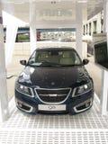 Londres Motorexpo 2011 - Saab 95 Imágenes de archivo libres de regalías