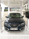 Londres Motorexpo 2011 - Saab 95 Imagens de Stock Royalty Free