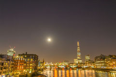 Londres na noite Imagem de Stock Royalty Free