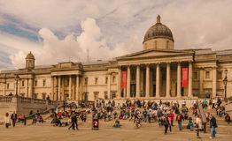 Londres - National Gallery, Imagem de Stock