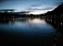 Londres no crepúsculo fotos de stock
