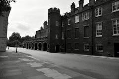 Londres noire et blanche photographie stock