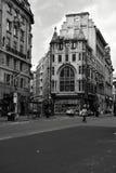 Londres noire et blanche image libre de droits